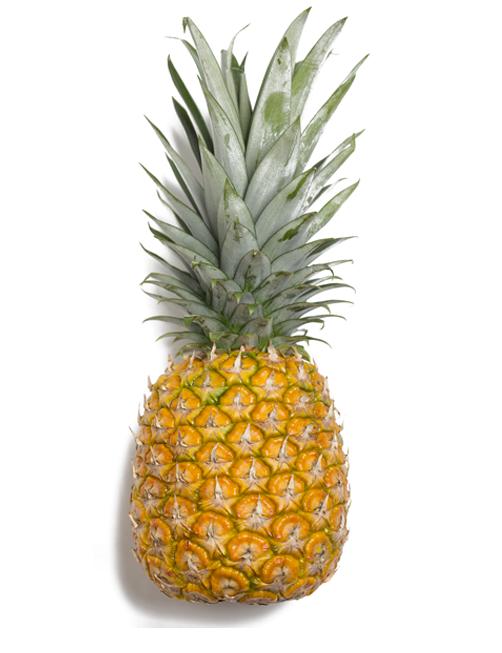 Ananas, selezione di frutta esotica
